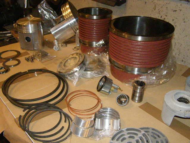 Cilindri karike klipovi za klipne kompresore